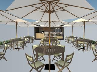 Cafe al aire libre de Atahualpa 3D Tropical