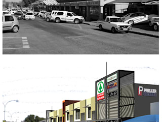 Preller Square, Shopping Center, Free State, Bloemfontein, by Sm!t Architects Modern