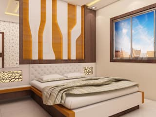 Newtown Project:  Bedroom by Creazione Interiors