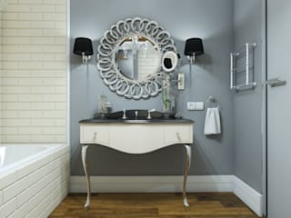 homify Bagno in stile industriale