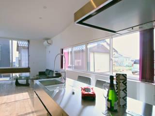 加藤淳一級建築士事務所 Modern kitchen