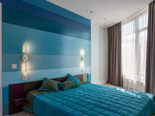 Dormitorios mediterráneos de Bellarte interior studio Mediterráneo