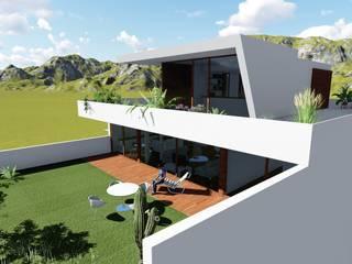ESTUDIOMORENATE Mediterranean style house