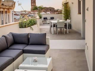 Patios & Decks by SENZA ESPACIOS, Mediterranean