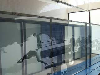 REESTRUTURAÇÃO DO COMPLEXO DE PISCINAS MUNICIPAIS - ÉVORA Piscinas modernas por atelier mais - arquitetura e design Moderno