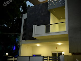 Ramachandran Residence:  Houses by Design Quest Architects,