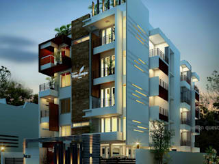 Vijayadhwajam by Malles Constructions:   by Design Quest Architects,