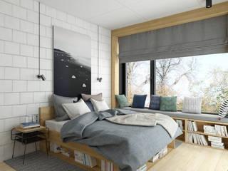 INSIDEarch Modern style bedroom
