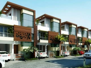 Signature Villas by Altitude Infrastructures:  Houses by Design Quest Architects,