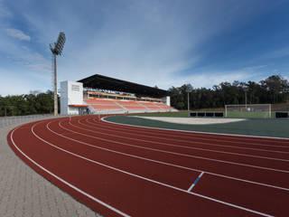 Moderne stadions van Tartan Arquitetura e Urbanismo Modern