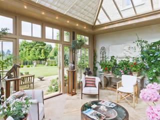 Beautiful Garden Room Vale Garden Houses 溫室 木頭 Beige