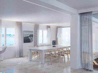 Scandinavian style dining room by Ealar Scandinavian