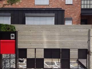 묵리주택 건축사사무소 리임 모던스타일 주택 벽돌