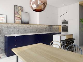 INSIDEarch Scandinavian style kitchen