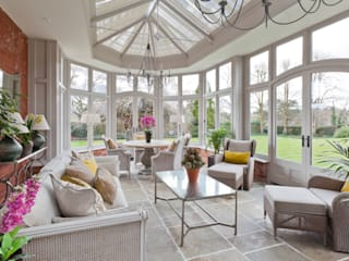 Victorian Style Orangery Classic style conservatory by Vale Garden Houses Classic Wood Wood effect