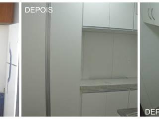 Cozinha minúsula:   por Solange Figueiredo - ALLS Arquitetura e engenharia