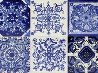 Płytki ceramiczne ścienne: styl , w kategorii  zaprojektowany przez Kolory Meksyku
