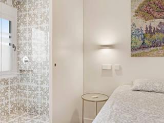 ISLABAU constructora Modern style bedroom