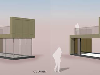 Aluminium panel clad extension:  Terrace by Vita Architecture Ltd