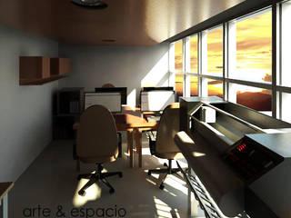 Remodelación Oficina Arte:  de estilo  por arte & espacio