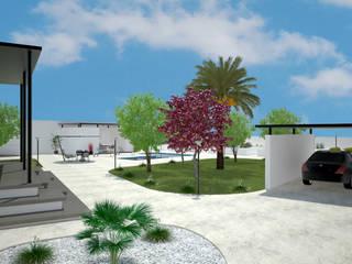 Pepa Navarro Interiorismo Minimalist style garden