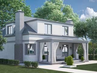 Итальянский дом Дома в средиземноморском стиле от Way-Project Architecture & Design Средиземноморский