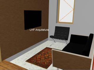 Sala de Estar: Salas de estar  por LHF Arquitetura