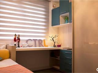 Quarto Adolescente Quartos modernos por CTRL | arquitetura e design Moderno