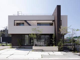 新宮の家 モダンな 家 の 株式会社 SYN空間計画 一級建築事務所 モダン