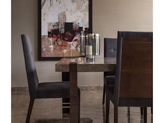 Dining room by Rakeshh Jeswaani Interior Architects