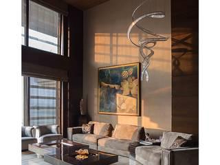 eclectische Woonkamer door Rakeshh Jeswaani Interior Architects