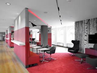 Social Area:  Bürogebäude von sbp - Seel Bobsin Partner