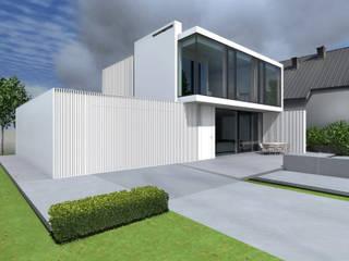 Häuser von PAWEL LIS ARCHITEKCI, Minimalistisch