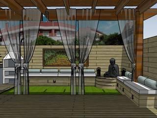 Balcones y terrazas de estilo minimalista de ecojardí Minimalista