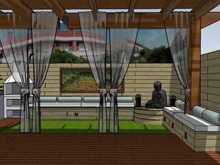 Jardines de estilo asiático de ecojardí Asiático