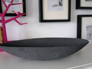 Misa betonowa LUNA czarna: styl , w kategorii  zaprojektowany przez I LIKE BETON
