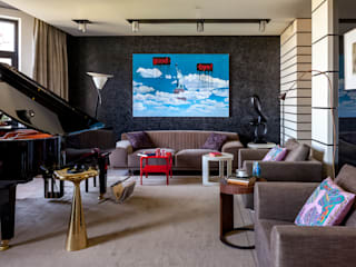 Гостиная: Гостиная в . Автор – МАРИНА БУСЕЛ интерьерный дизайн