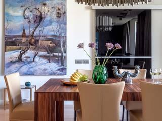 Столовая: Столовые комнаты в . Автор – МАРИНА БУСЕЛ интерьерный дизайн