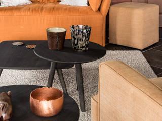 Aménagement complet d'un rez-de-chaussée à Le Roux Salon classique par Marie'S Home Classique