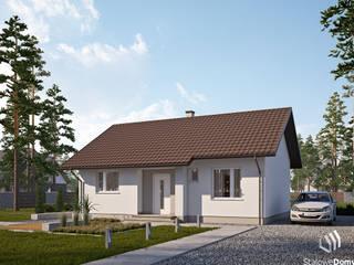 Projekt domu SD4 - energooszczędny dom o wysokim standardzie od Stalowe Domy