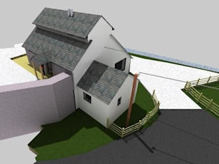 Conversion of Dry to Self Build Family Home by Caullystone Architectural Practice