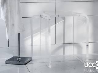 U-kształtne taborety i stoliki z plexi UCCOI® od UCCOI® producent mebli i dekoracji z plexi Nowoczesny