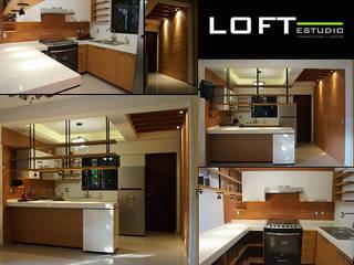 Cocinas de estilo ecléctico de LOFT ESTUDIO arquitectura y diseño Ecléctico