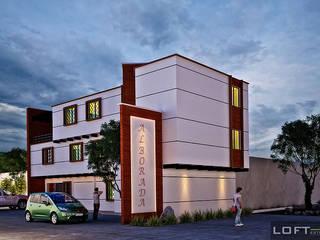 Casas de estilo ecléctico de LOFT ESTUDIO arquitectura y diseño Ecléctico