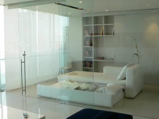 Remodelación de un departamento en Reforma 222, Ciudad de México Estudios y despachos modernos de Arquitectos M253 Moderno