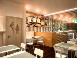 Rendering 3D : Bar Ristoranti Pizzerie Disco Pub di Pasquale De Angelis Moderno