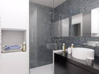 Appartement avec Terrasse à Vincennes: Salle de bains de style  par Agence KP