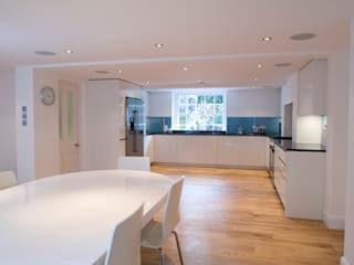5 Bed Semi-detached Victorian Villa in Islington, London Absolute Project Management Moderne Küchen