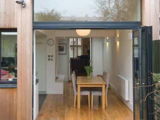 Cozinha aberta para sala Architect Your Home Jardins modernos