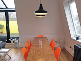 3 Bed Flat Renovation in Islington, London Absolute Project Management Moderne Esszimmer